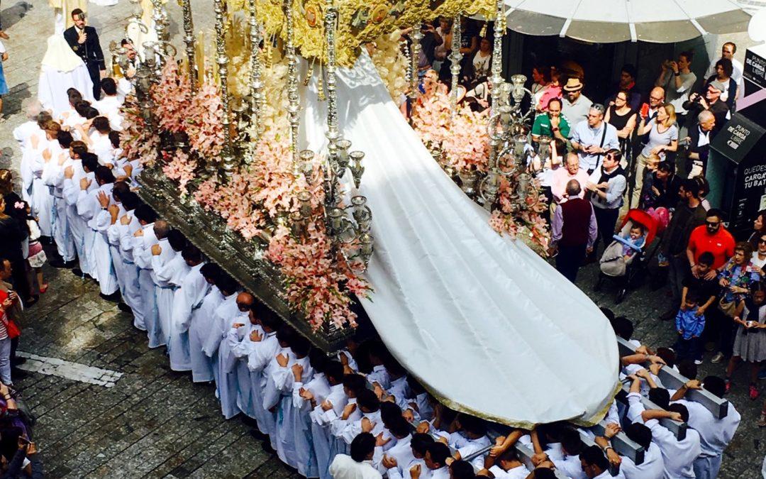Katolsk påskefeiring i Málaga, en fantastisk opplevelse!