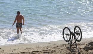 Strandliv i februar…Málaga altså!